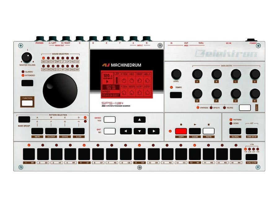 Elektron machinedrum sps 1uw mkii drum synth sequencer xl