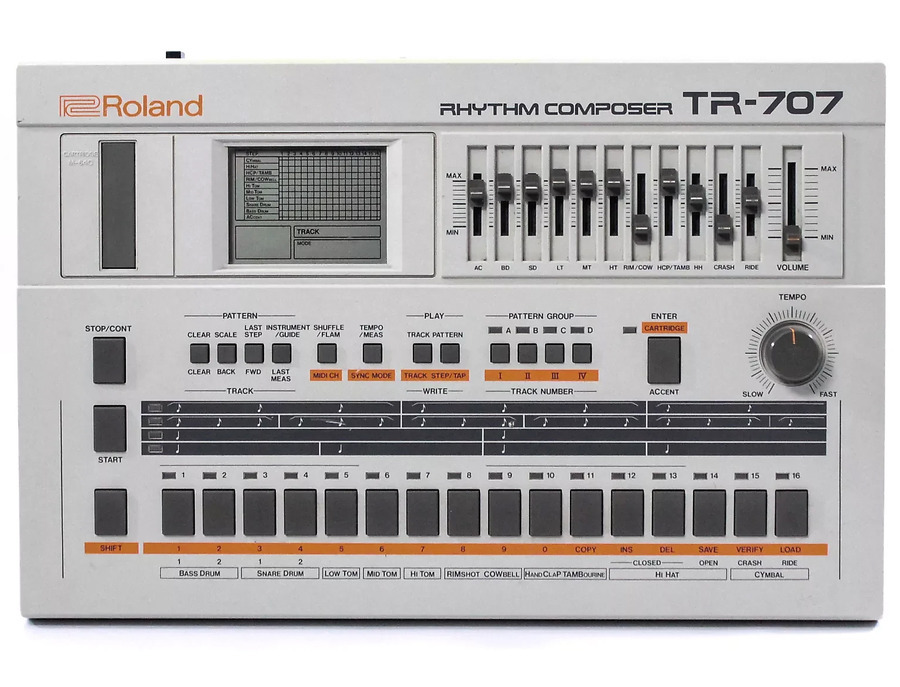 Roland tr 707 rhythm composer xl