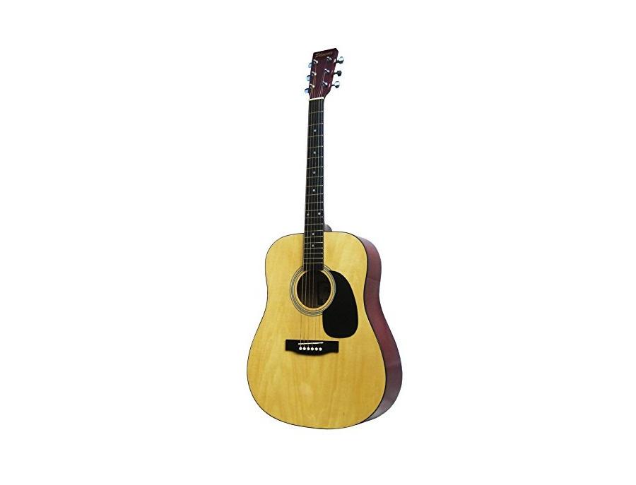 Phoenix 001 N Full Size Western Guitar - Natural