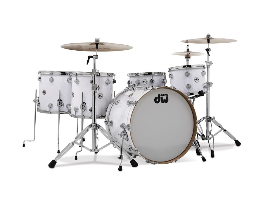 dw white glass finish