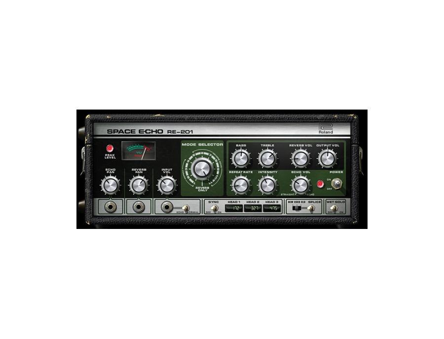 Universal audio roland re 201 space echo tape delay plugin xl