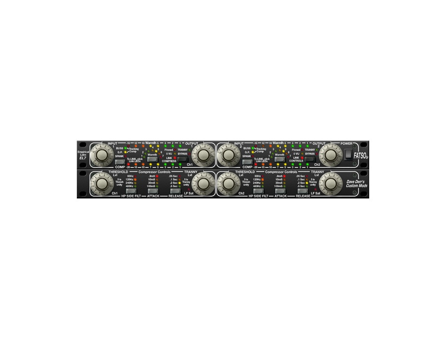Universal Audio FATSO Jr./Sr. Tape Sim. & Compressor Plugin