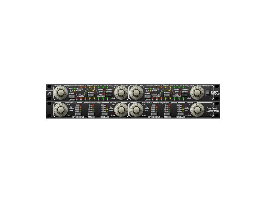 Universal audio fatso jr sr tape sim compressor plugin xl