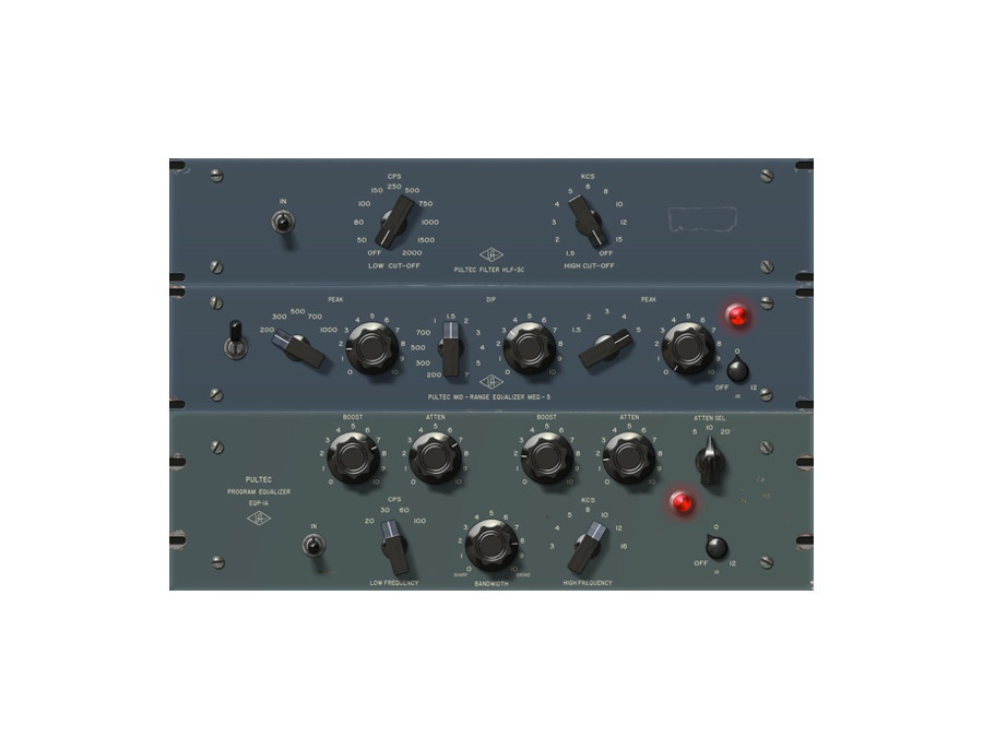 Universal audio pultec passive eq plug in collection xl