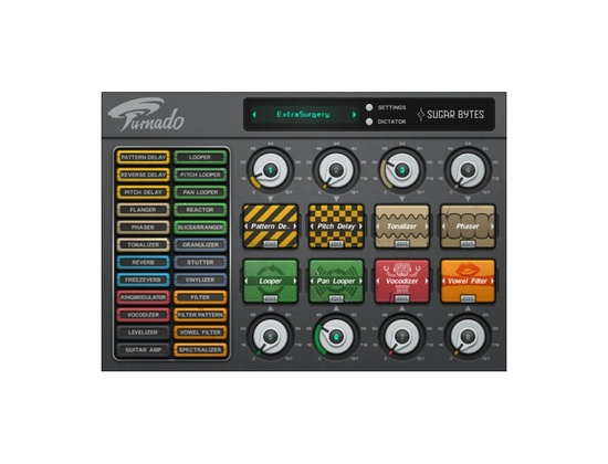 Sugar Bytes Turnado Action Multi FX VST