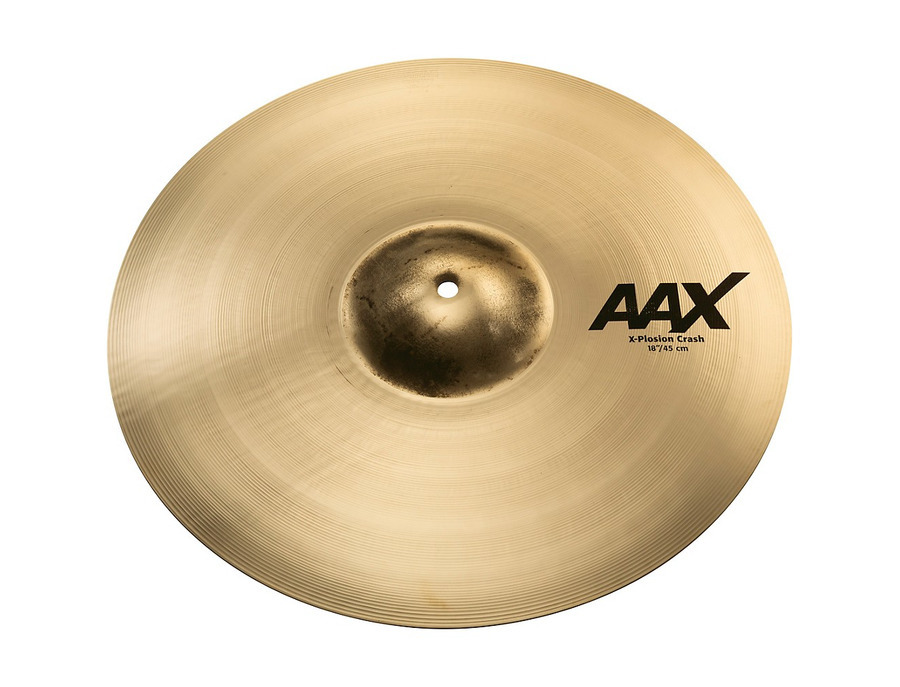Sabian 18 aax x plosion crash xl