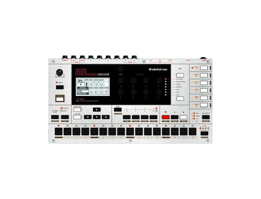 Elektron monomachine sfx60 sound generator xl