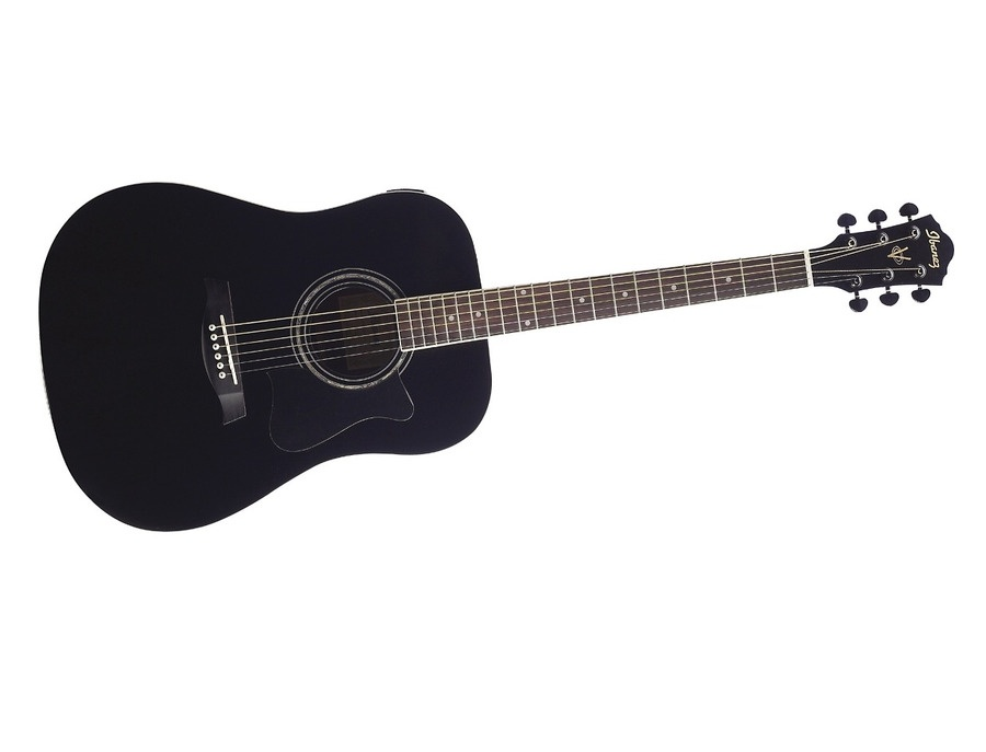 ibanez v200s solid top acoustic guitar reviews prices equipboard. Black Bedroom Furniture Sets. Home Design Ideas