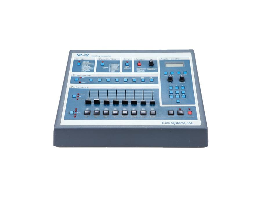 E mu sp 12 classic drum machine and sampler xl