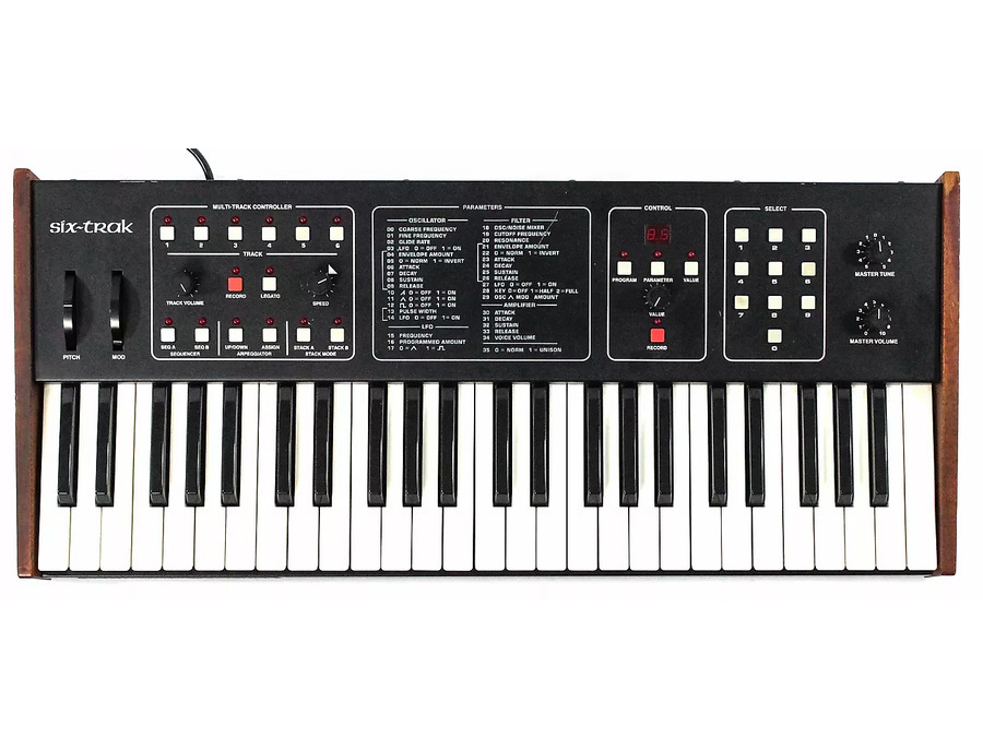 Sequential Circuits Six-Trak Analog Synthesizer