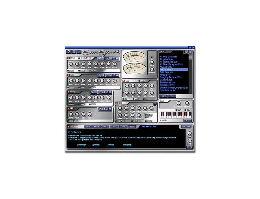 Image line simsynth xl