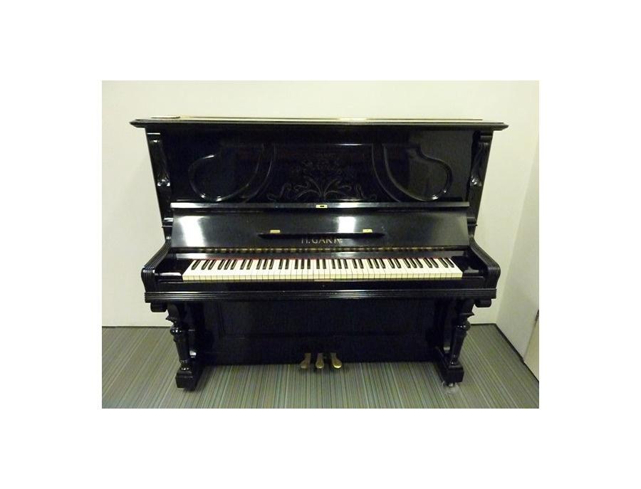 H garn upright piano 1900s xl