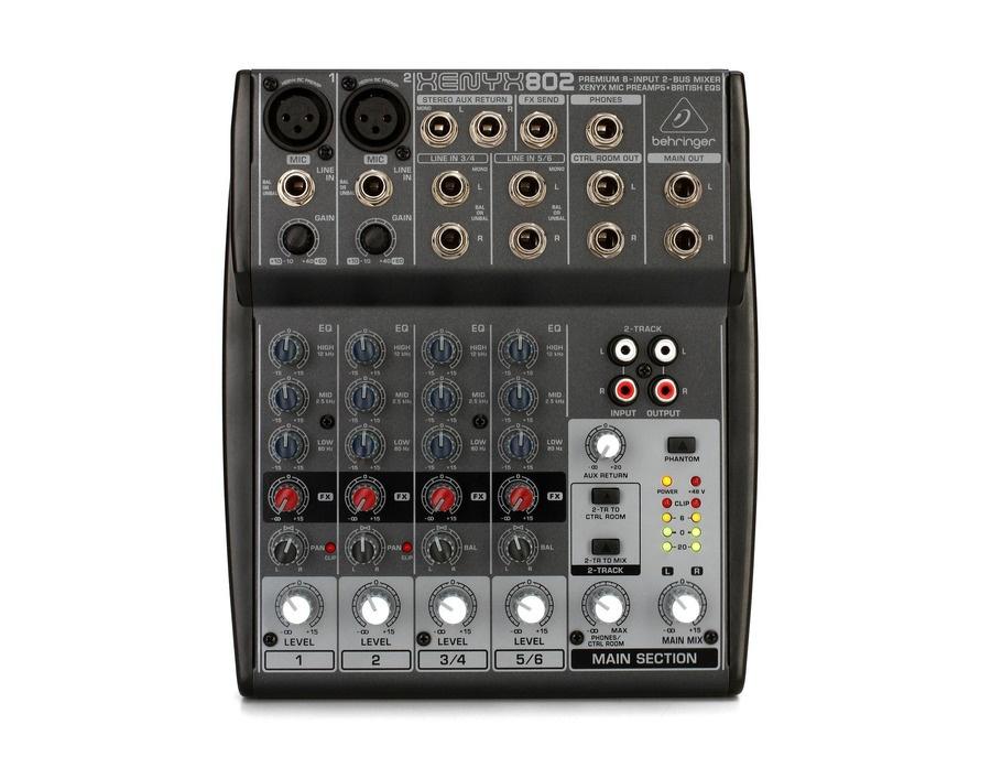 Behringer xenyx 802 mixer xl