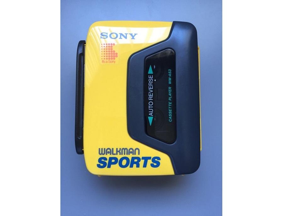 Sony walkman cassette player wm a53 xl