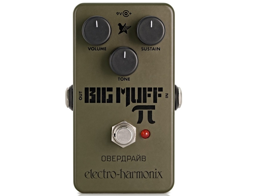 Electro harmonix green russian big muff reissue xl