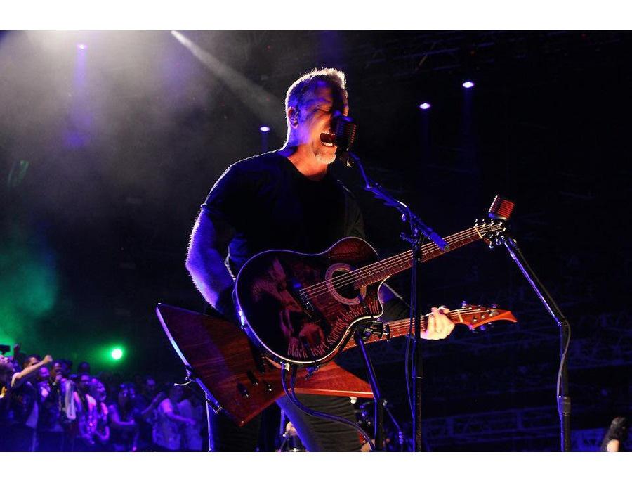 Unforgiven custom acoustic guitar xl