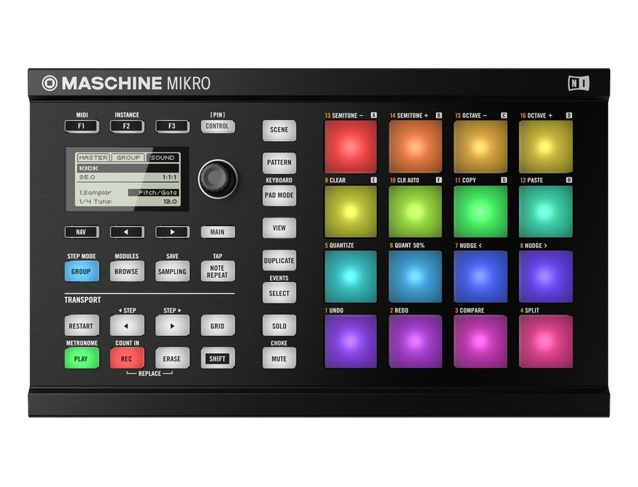 Native instruments maschine mikro mkii xl
