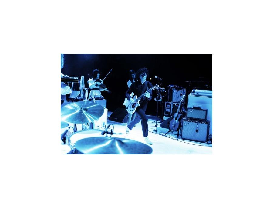 """Parsons Guitars The """"Blue Randy"""" Triple Jet"""