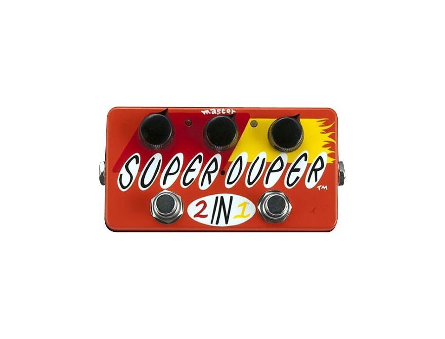 Zvex super duper 2 in 1 hand painted xl