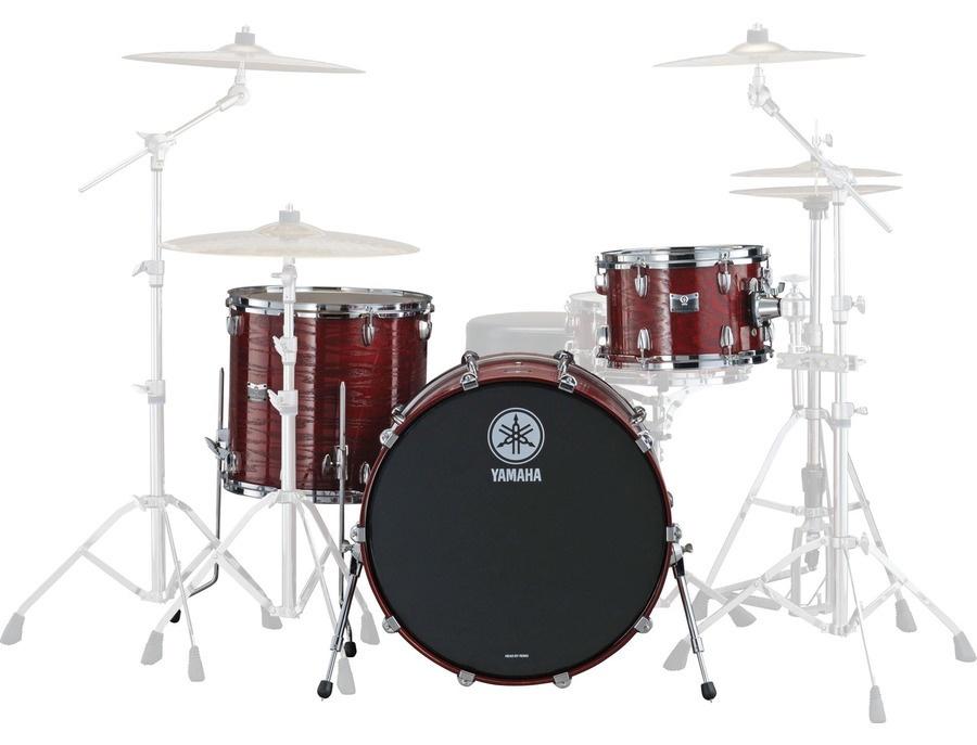 Yamaha rock tour custom drums red xl