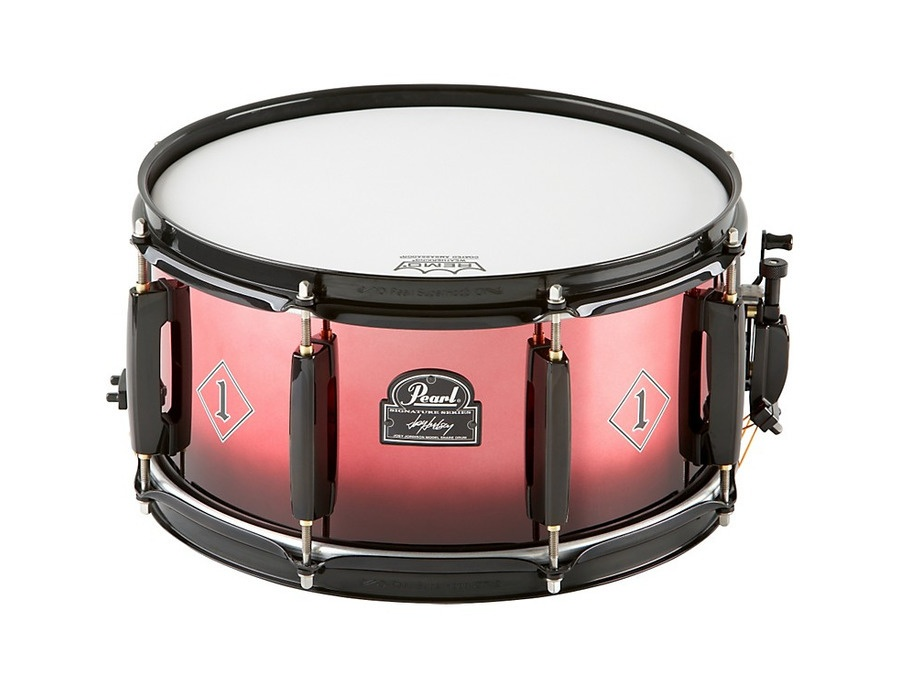 Pearl Joey Jordison Signature Snare Red