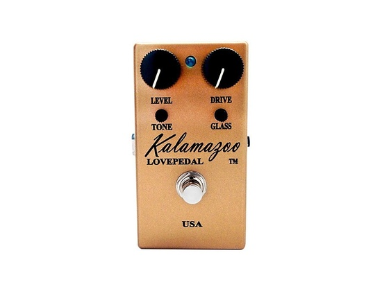 Lovepedal Kalamazoo Overdrive Pedal Gold Limited Edition