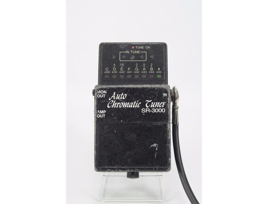 Matrix sr 3000 auto chromatic tuner pedal xl