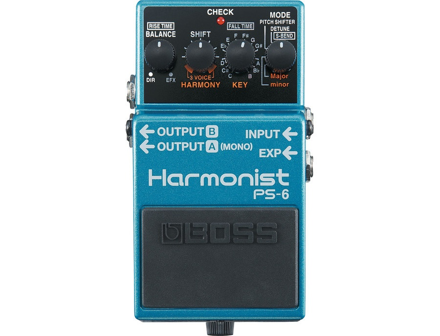 Boss ps 6 harmonist pitch shifter guitar effects pedal xl