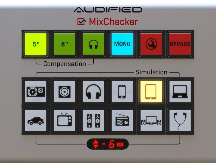 Audified mixchecker xl