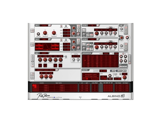 Rob Papen Albino 3 Software Synthesizer