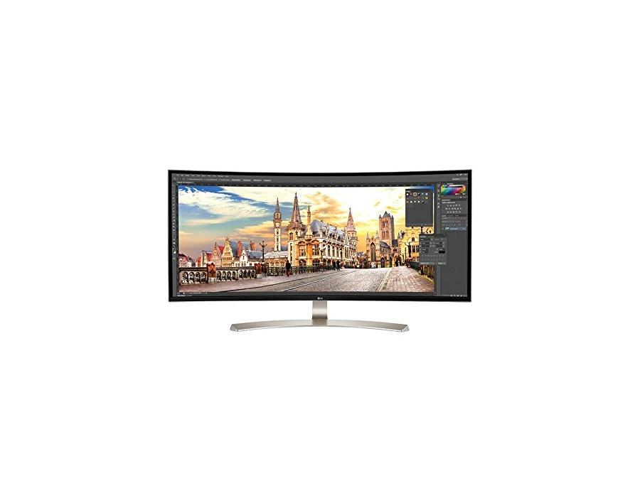 "LG 38UC99-W 37,5"" 21:9 Curved UltraWide QHD+ Monitor"