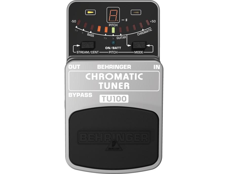 Behringer chromatic tuner tu100 xl