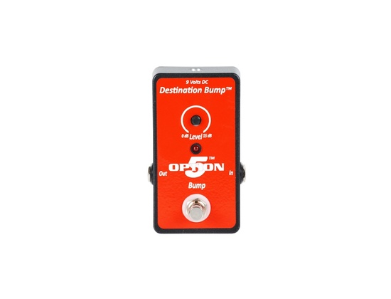 Option 5 Destination Bump Effects Pedal