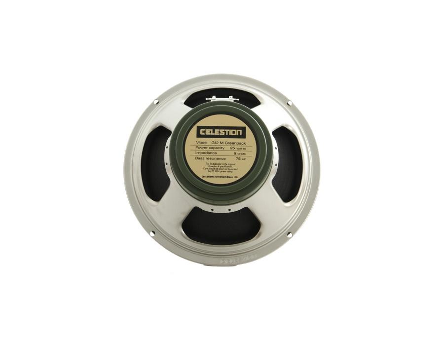 Celestion g12m greenback 12 25 watt speaker 8 ohm xl