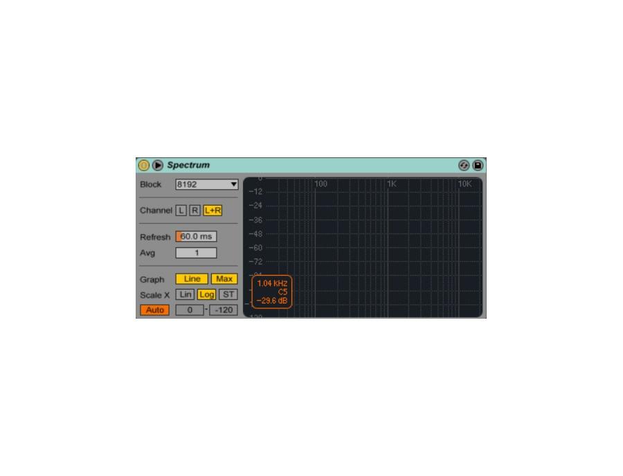 Ableton Spectrum Plugin