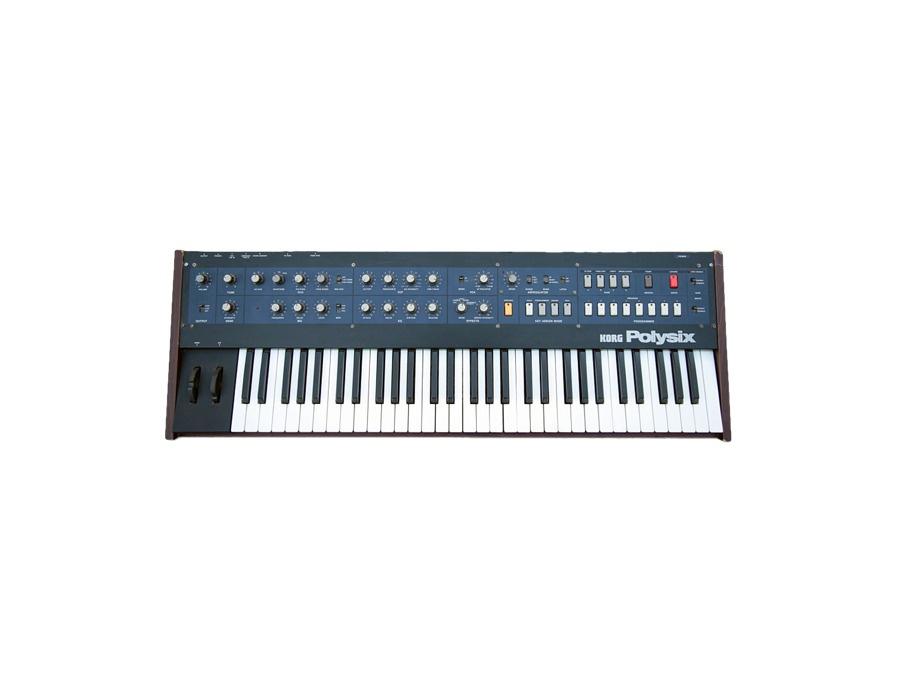 Korg polysix synthesizer xl