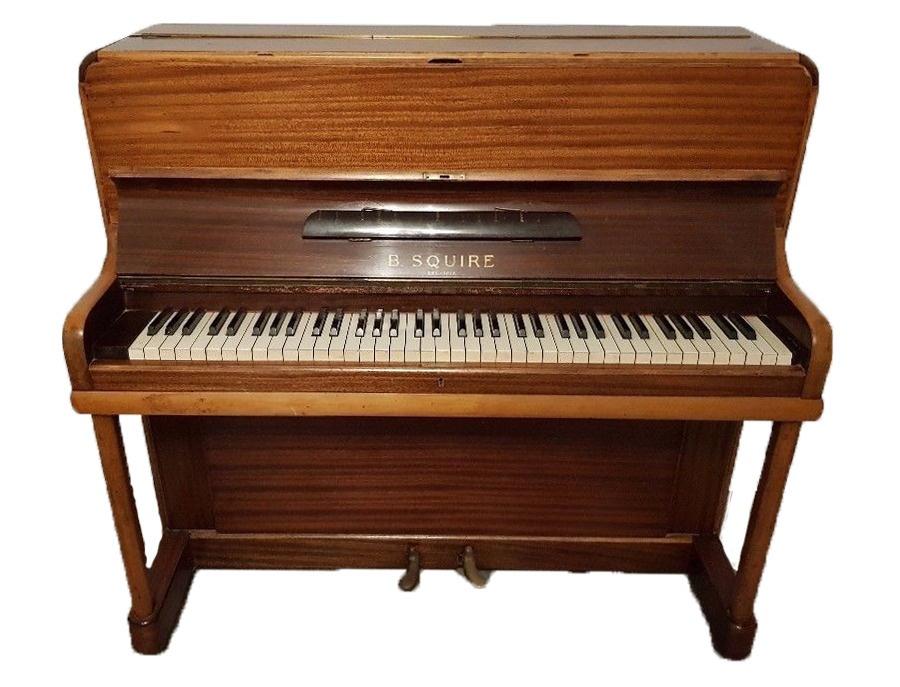 B.Squire Upright Piano