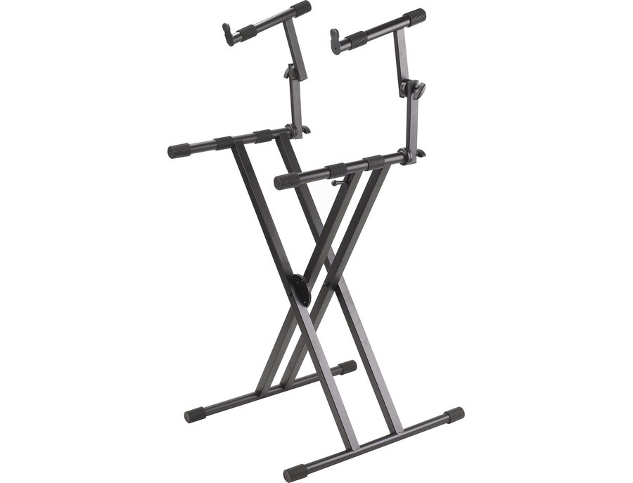 On-Stage Stands Heavy-Duty 2-Tier Keyboard X Stand