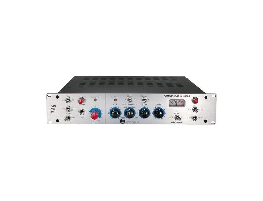 Summit Audio MPC-100A Tube Pre-Amp and Compressor/Limiter