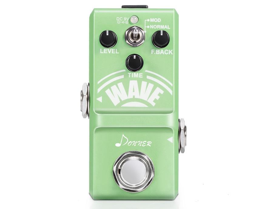 Donner wave analog delay guitar effect pedal super mini xl
