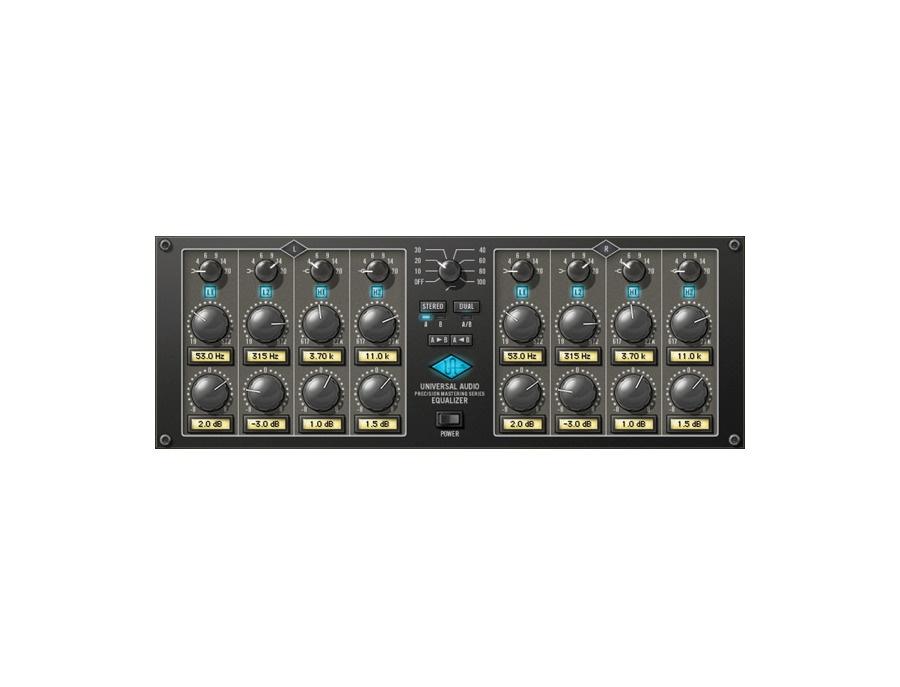 Universal audio precision eq plugin xl