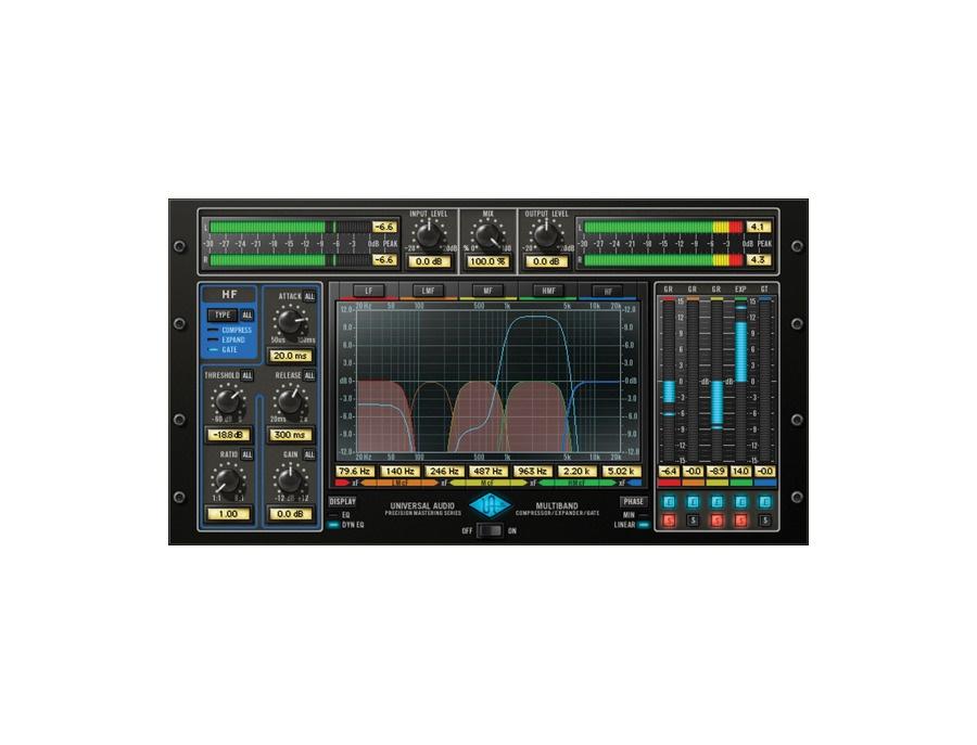 Universal audio precision multiband plugin xl