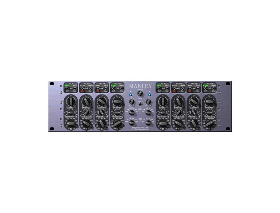 Universal audio manley massive passive eq plugin xl