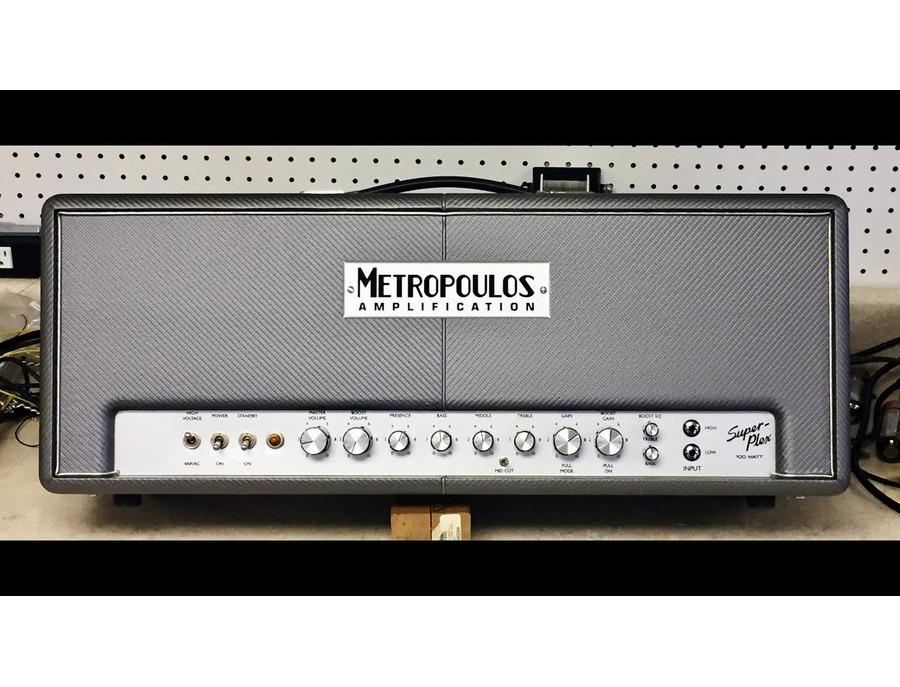Metropoulos Super-Plex 100 Watt Head