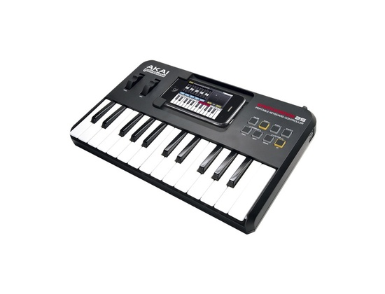 Akai Professional SynthStation25 Piano Keyboard for iPhone and iTouch
