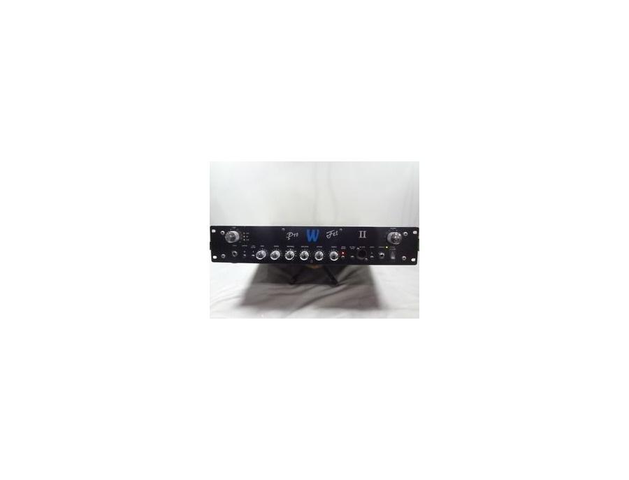Warwick profet ii 250w bass amp head xl
