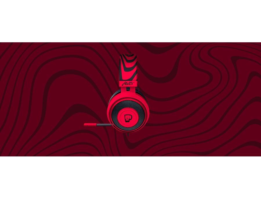 Audio technica over ear earbuds - Razer Kraken Pro V2 - PewDiePie - headset Overview