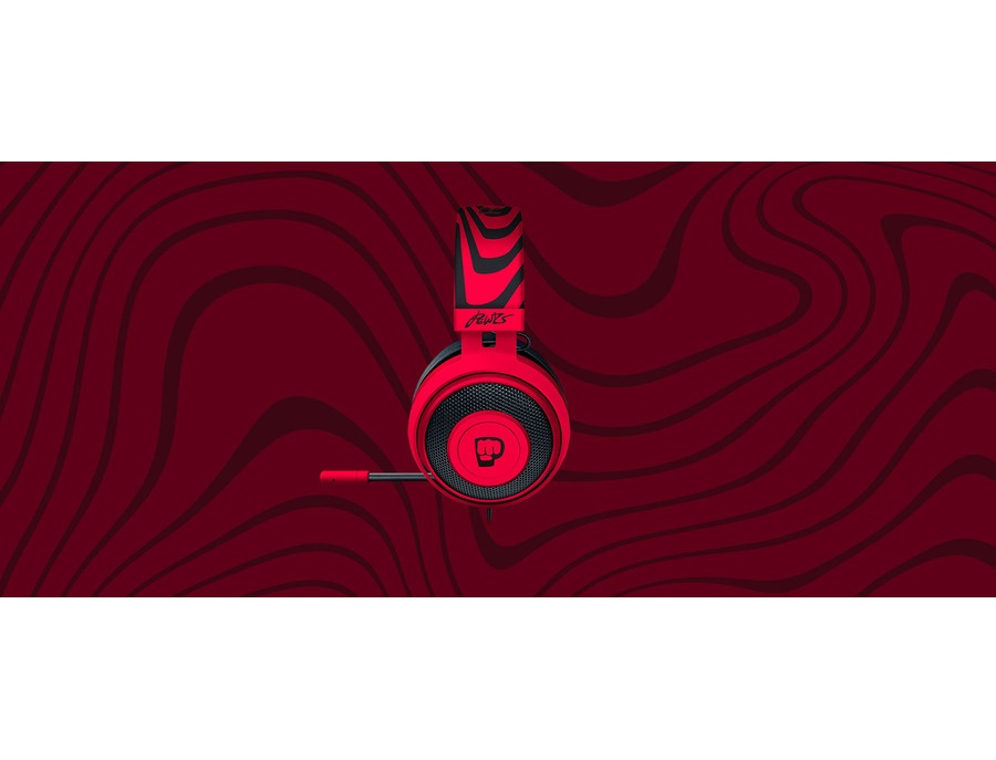 Pewdiepie headset razer kraken pro v2 custom xl