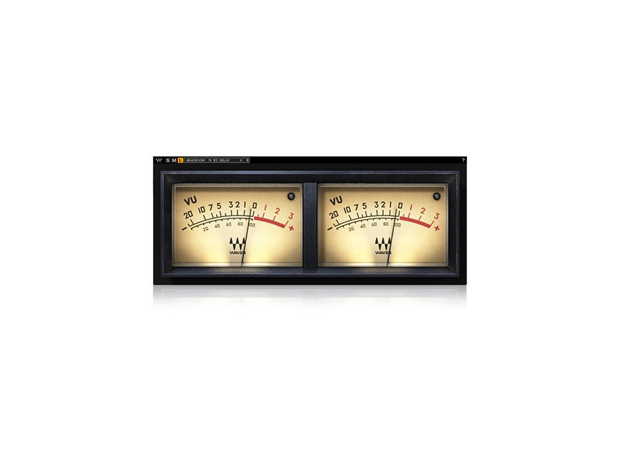 Waves vu meter xl