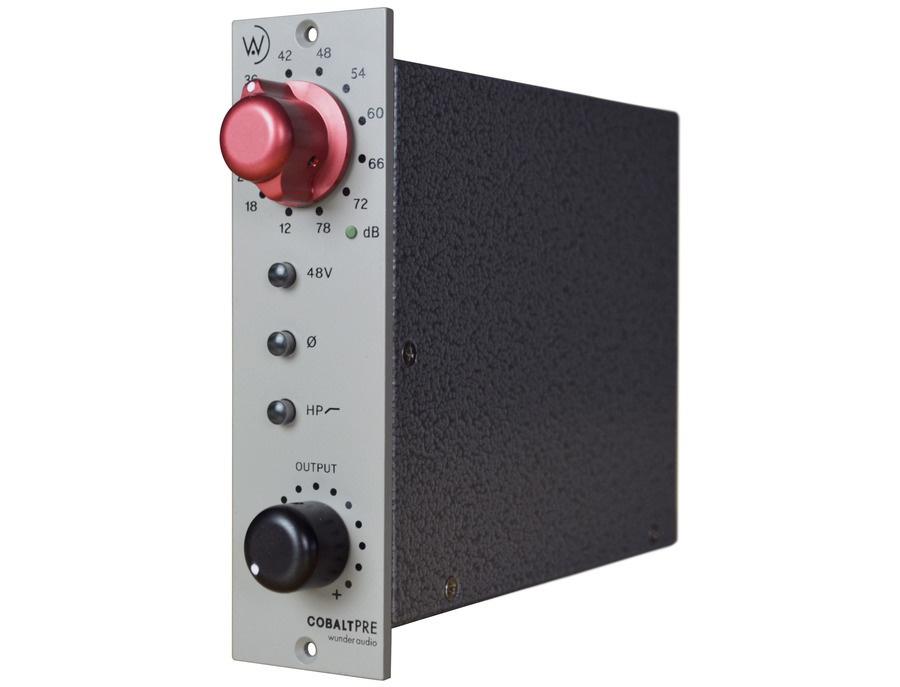 Wunder Audio Cobalt Pre